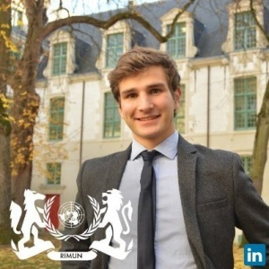Cyril Demoures, President chez Reims International Model United Nations
