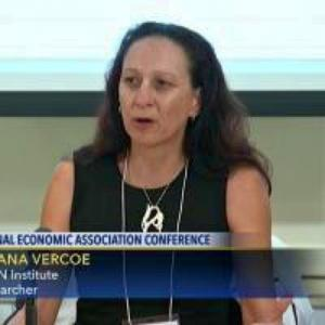 Prof. Moana Vercoe, Professor of Economics, PhD from Claremont Graduate University